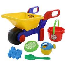Karutis Wader su smėlio žaislais 6 el.