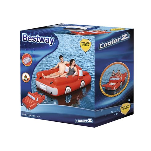 Pripučiamas automobilis Bestway 280 x 149cm 43192