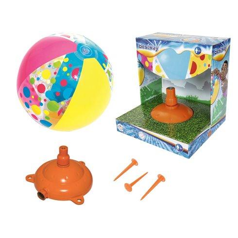 Fountain sprayer + Bestway 52259 ball