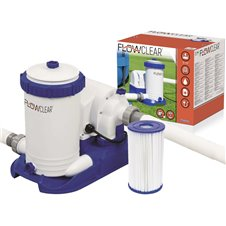 Vandens pompa su filtru Bestway 9,463L 58391