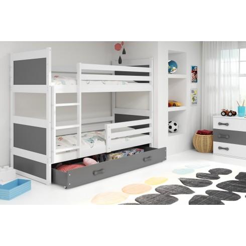 Двухъярусная кровать RIKIS 190*80 с ящиком