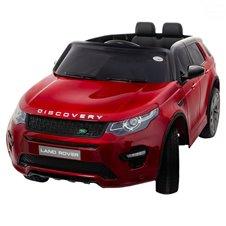 Elektromobilis Euro Vaikas Land Rover Red