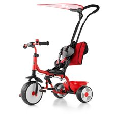 Milly Mally Rowerek Boby Deluxe 2015 Red (0385, Milly Mally)