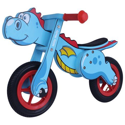 Rowerek Biegowy Dino Mini Blue (2446, Milly Mally)