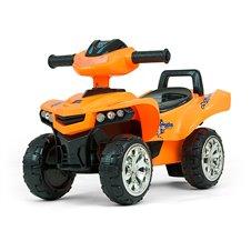 Paspiriamoji mašinėlė Milly Mally Keturratis Monster Orange
