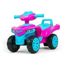 Paspiriamoji mašinėlė Milly Mally Keturratis Monster Pink