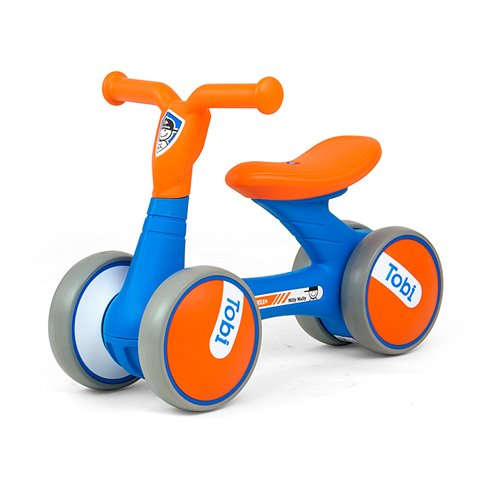 Paspiriamasis dviratukas M&M Tobi Blue-Orange