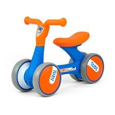 Paspiriamasis dviratukas Milly Mally Tobi Blue-Orange
