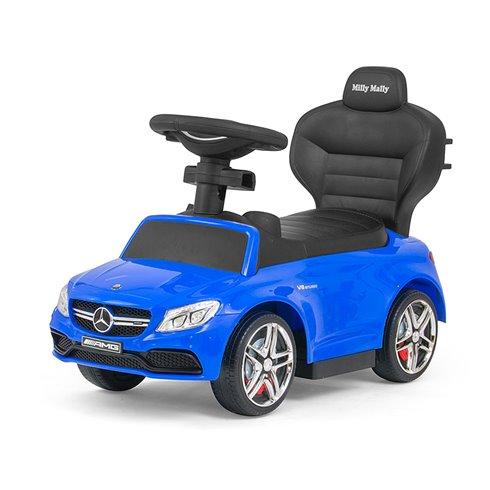 Paspiriamoji mašinėlė Milly Mally MERCEDES-AMG C63 Coupe Blue