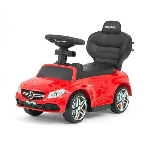 Paspiriamoji mašinėlė Milly Mally MERCEDES-AMG C63 Coupe Red
