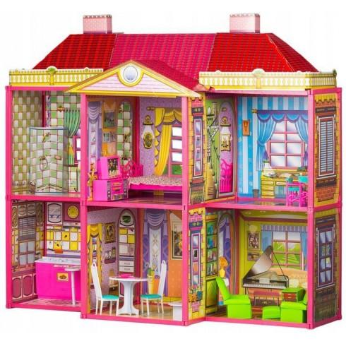 Kartoninis lėlių namas Rezidencija HC3