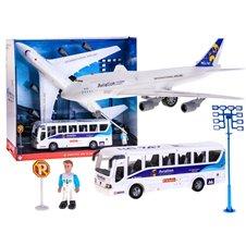 Lėktuvas su autobusu Jokomi ZA1790