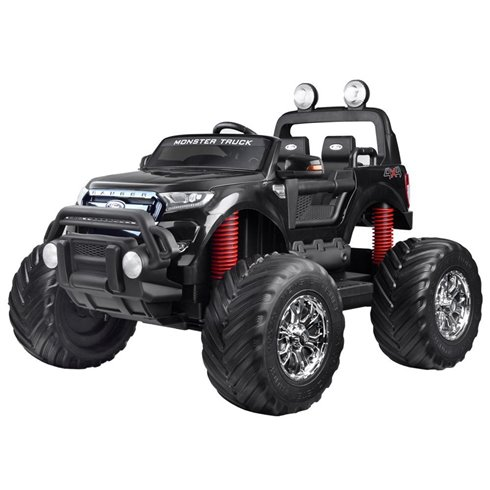 Autko na akumul. FORD RANGER Monster Truck PA0208 Black