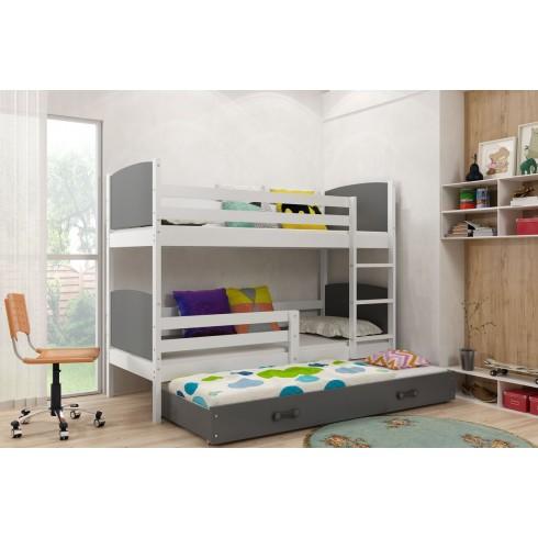 Двухъярусная кровать TIMAS 3 190*80