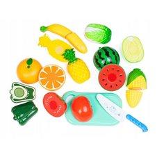 Pjaustomi vaisiai ir daržovės Eko Žaislas Plastikiniai