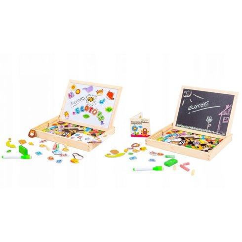 Dvipusė magnetinė lenta Eko Žaislas