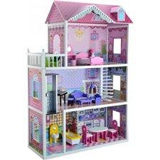 Medinis lėlių namas Eko Žaislas Braškinė rezidencija