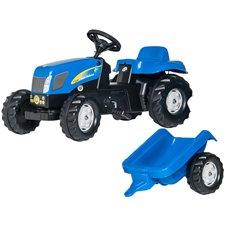 Minamas traktorius Rolly Toys Kid New Holland 013074