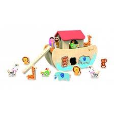 Medinis žaislas Classic World Nojaus arka