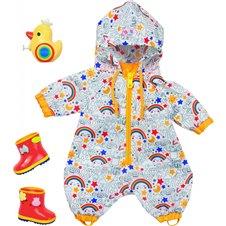 Baby Born ubranie do zabawy na dworze Kombinezon Kalosze