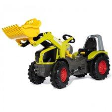 CLAAS Traktor na Pedały X-Trac Premium Łyżka Ciche Koła Rolly Toys