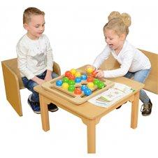 Medinis žaidimas vaikams Masterkidz spalvoti rutuliukai