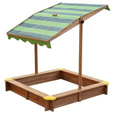 Medinė smėlio dėžė su reguliuojamu stogu AXI