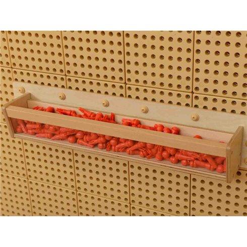 Medinė lentyna mokslo ir kūrybos lentai Masterkidz STEM 40 cm