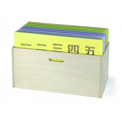 Medinė dėžutė Viga Piešimo ir rašymo lentoms