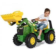 Minamas traktorius Rolly Toys John Deere X-Trac Premium 651047