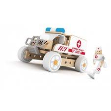 Konstruktorius Classic World Greitosios pagalbos automobilis