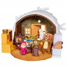 Mašos ir lokio žiemos namelis Simba  su priedais