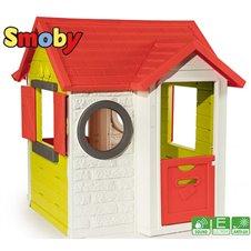 Vaikiškas sodo namelis SMOBY su durų skambučiu