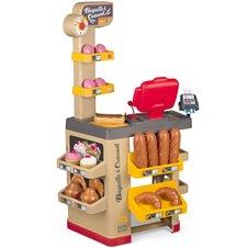 Vaikiška kepyklėlės parduotuvė Smoby  Supermarket + 26 priedai
