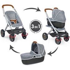 Lėlių vežimėlis Smoby Maxi Cosi Quinny 3in1 253104