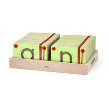 Magnetinės lentelės VIGA Išmok raides