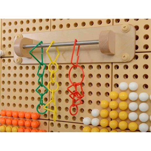 Drabužių kabykla edukacinei lentai  Masterkidz STEM