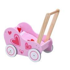 Medinis lėlių vežimėlis Classic World