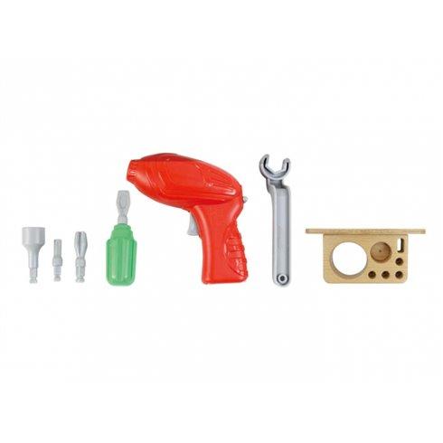 Įrankių rinkinys su atsuktuvu Masterkidz STEM 8 elementai