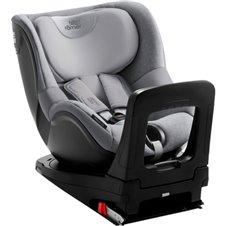 Automobilinė kėdutė BRITAX DUALFIX M i-SIZE Grey Marble ZS SB 2000030780
