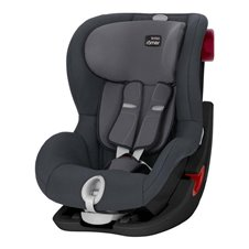 Automobilinė kėdutė BRITAX KING II BLACK SERIES Storm Grey ZR SB, 2000027559