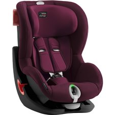 Automobilinė kėdutė BRITAX KING II LS BLACK SERIES Burgundy Red ZR SB 2000030804