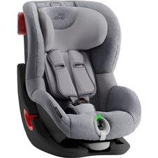 Automobilinė kėdutė BRITAX KING II LS BLACK SERIES Grey Marble ZR SB 2000030806