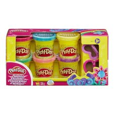 Plastilino rinkinys PLAY DOH Sparkle Compound Collection, A5417EU8