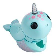 Elektroninis žaislas FINGERLINGS banginis Nikki, turkio spalvos, 3699