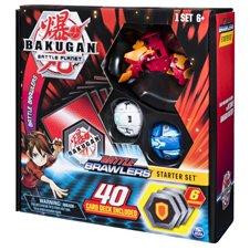 Kortų pakuotė BAKUGAN Starter, asort., 6045140/6055114