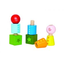 Lavinamieji blokeliai HAPE Twist&Turnables, E0416