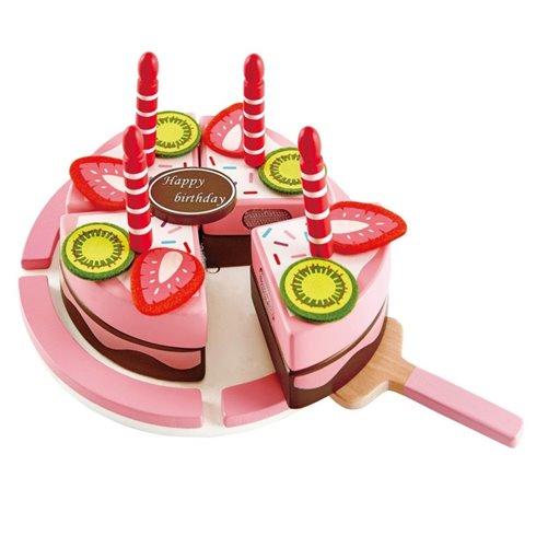 Rinkinys HAPE Gimtadienio tortas, medinis, E3140