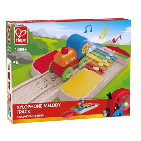 Žaidimas-ksilofonas HAPE Melodijų trasa, E3813