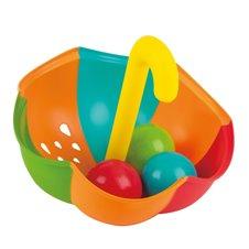 Vonios žaislas HAPE Skėtis su kamuoliukais, E0206